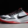 Brand New Nike Zoom Kobe 5 Protro White Black Red Shoes 386429-100-1
