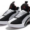 "Buy 2020 Air Jordan 35 ""DNA"" Black/White-Fire Red Shoes-3"