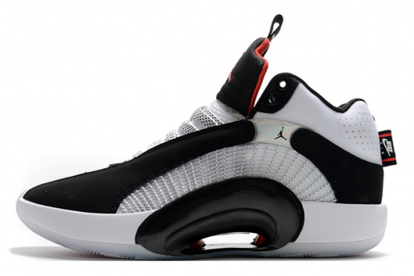 "Buy 2020 Air Jordan 35 ""DNA"" Black/White-Fire Red Shoes"