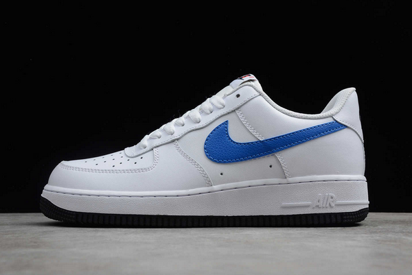 Buy 2020 Nike Air Force 1 Low White/Royal Blue BQ2241-844