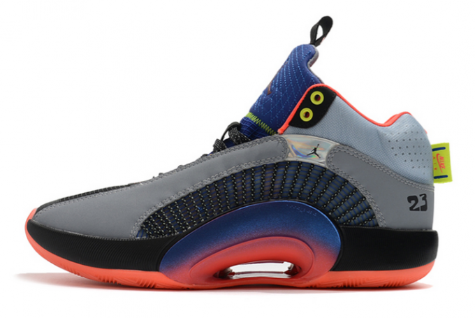 "DC1492-001 Air Jordan 35 XXXV ""Center of Gravity"" Multi-Color For Sale"