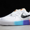 "Nike Air Force 1 '07 ""Have A Good Game"" White Iridescent To Buy 318155-113-5"