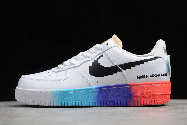 "Nike Air Force 1 '07 ""Have A Good Game"" White Iridescent To Buy 318155-113"