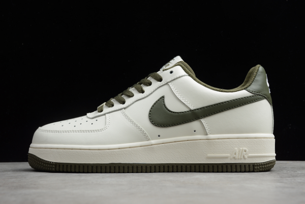 Nike Air Force 1 '07 LV8 White/Army Green-Black For Sale