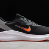 Nike Air Zoom Winflo 7 Black/Smoke Grey/Total Orange/Gym Red Shoes Outlet Online CJ0291-011-2