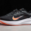 Nike Air Zoom Winflo 7 Black/Smoke Grey/Total Orange/Gym Red Shoes Outlet Online CJ0291-011-1