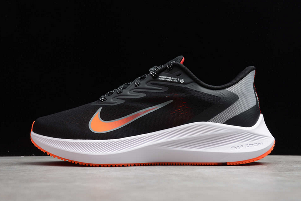 Nike Air Zoom Winflo 7 Black/Smoke Grey/Total Orange/Gym Red Shoes Outlet Online CJ0291-011