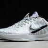 Nike Kobe 5 Protro DeMar DeRozan PE Wolf Grey/White-Black Sale CD4991-003-2