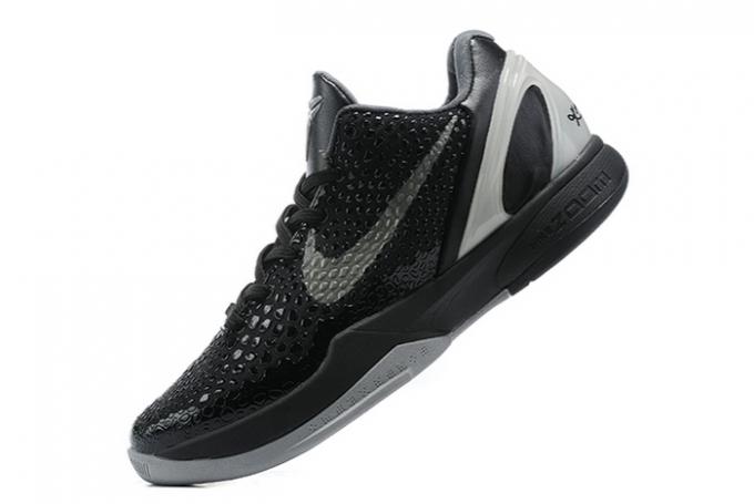 Nike Kobe 6 Protro Black/Grey For Men