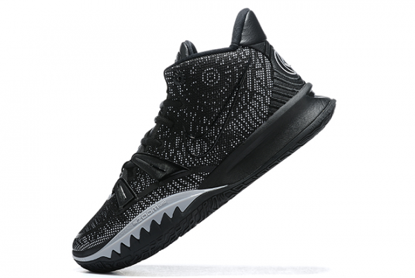 2020 Nike Kyrie 7 Black/Wolf Grey For Cheap