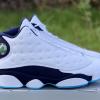 Releases Air Jordan 13 Dark Powder Blue 414571-144 Shoes For Men-2
