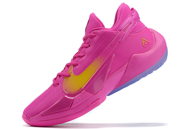 2020 Mens Nike Zoom Freak 2 Vivid Pink/Yellow For Sale