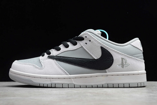 2020 Nike SB Dunk Low Pro Grey/Black New Sale BQ6817-101