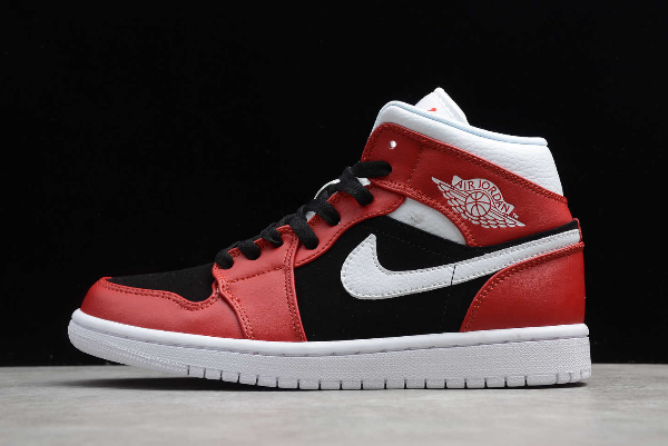 Brand New Air Jordan 1 Mid Gym Red Black Sale BQ6472-601