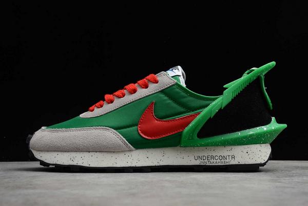 Buy Undercover x Nike Daybreak Lucky Green Red For Running CJ3295-3001