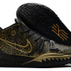 New Arrival Nike Kyrie 7 Metallic Gold Black On Sale-1