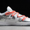 New Off-White x Nike SB Dunk Low Silver/White-Black Sneakers CT0856-800-1