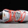 New Off-White x Nike SB Dunk Low Silver/White-Black Sneakers CT0856-800-3