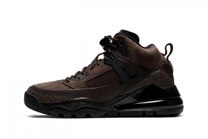 2021 Jordan Spizike 270 Boot Dark Brown CT1014-200