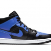2021 New Release Air Jordan 1 Mid Hyper Royal 554724-077-1