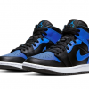 2021 New Release Air Jordan 1 Mid Hyper Royal 554724-077-3