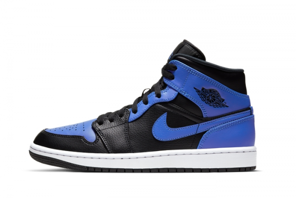 2021 New Release Air Jordan 1 Mid Hyper Royal 554724-077