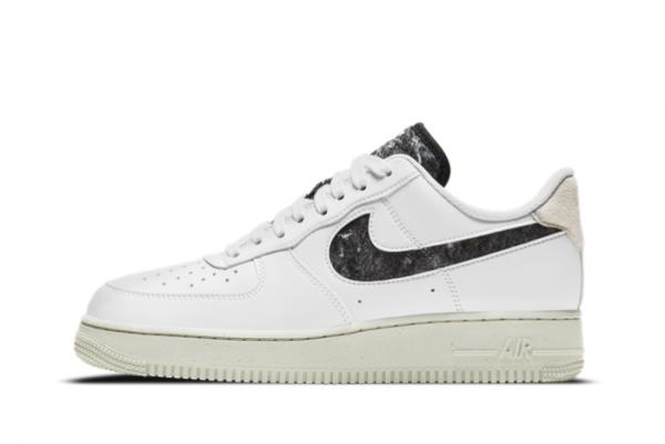 Cheap Nike Air Force 1 '07 SE White/Light Bone-Black DA6682-100
