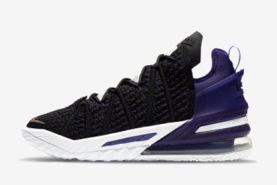 Cheap Nike LeBron 18 EP Lakers For Sale CQ9284-004