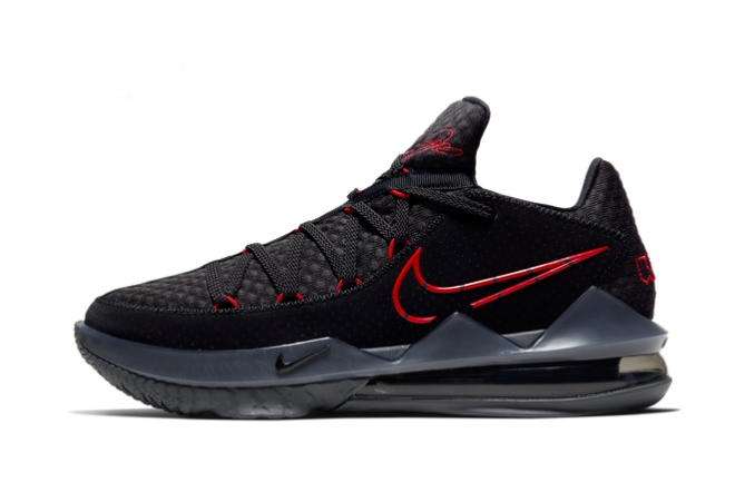 Nike Lebron 17 Low EP Bred Basketball Shoes CD5006-001