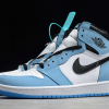 2021 Air Jordan 1 Retro High OG University Blue 555088-134 -4