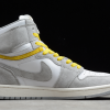 2021 Cheap Air Jordan 1 High Switch Light Smoke Grey For Sale CW6576-100-1