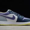 2021 Cheap Air Jordan 1 Low Purple Magenta Mismatch DJ4342-400-1