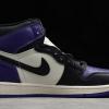 2021 Cheap Air Jordan 1 Retro High Court Purple 555088-501 -1
