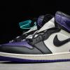 2021 Cheap Air Jordan 1 Retro High Court Purple 555088-501 -3
