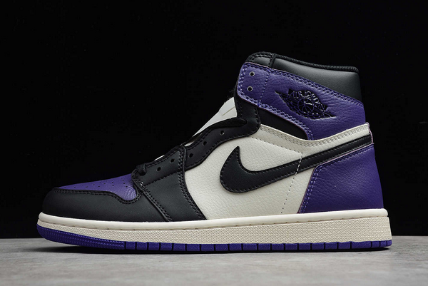 2021 Cheap Air Jordan 1 Retro High Court Purple 555088-501