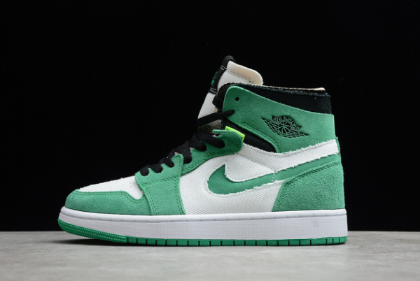 2021 Cheap Air Jordan 1 Zoom CMFT Stadium Green For Sale CT0979-300