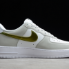 2021 Cheap Nike Air Force 1 Low Metallic Summit White For Sale DC9029-100-1