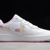 2021 Cheap Nike Court Borough Low 2 SE GS White/Pink CK5426-100 -1