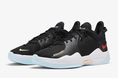 2021 Cheap Nike PG 5 PE Black/White