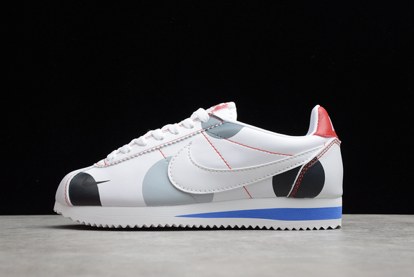 2021 Cheap Nike Wmns Classic Cortez White/Red-Grey For Sale AH7528-006