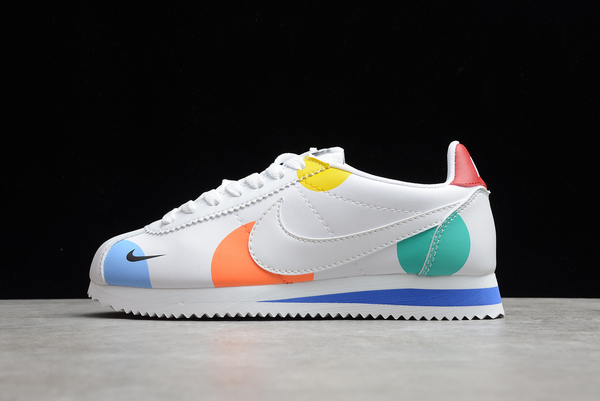 2021 Cheap Nike Wmns Classic Cortez White/Varsity Red For Sale AH7528-005