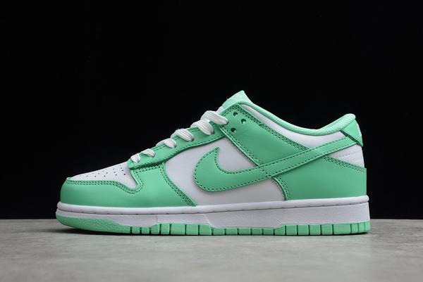 2021 Cheap WMNS Nike Dunk Low Green Glow DD1503-105