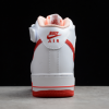 2021 Latest Nike Air Force 1 07 Mid White Red For Sale CD0884-123 -2