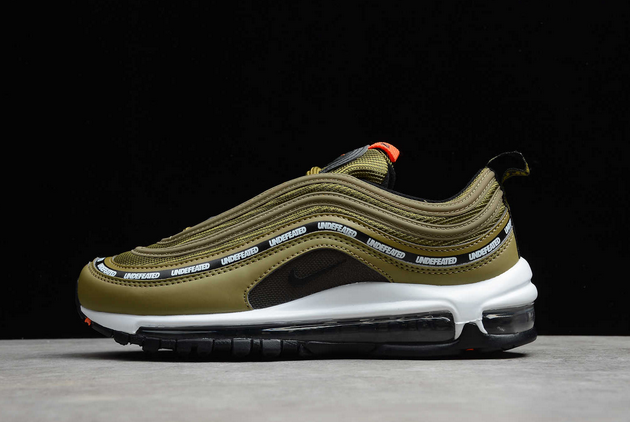 2021 Latest Nike Air Max 97 UNDFTD Black Militia Green For Sale DC4830-300