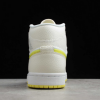 2021 New Air Jordan 1 Mid SE Voltage Yellow For Sale DB2822-107 -4