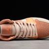 New Air Jordan 1 Mid Atomic Orange/Apricot Agate-Terra Blush DH4270-800-2