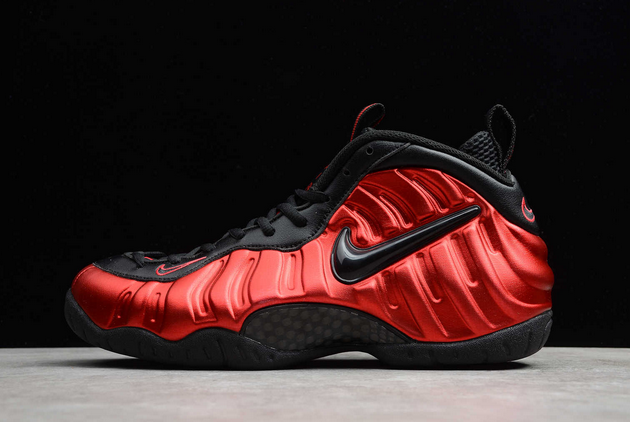 2021 Cheap Nike Air Foamposite Pro University Red For Sale 624041-604