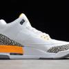 2021 Cheap Nike Air Jordan 3 Laser Orange For Sale CK9246-108-1