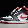 2021 Latest Air Jordan 1 Mid Black Gym Red 54724-122-2