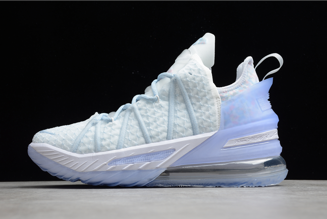 2021 Latest Nike Lebron 18 Play for the Future CW3156-400